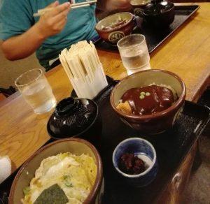 野村屋のカツ丼・デミカツ丼セット