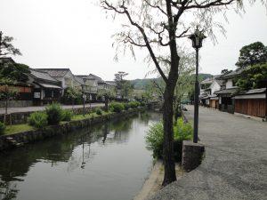 倉敷の街並み