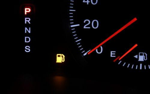 ガソリン警告灯