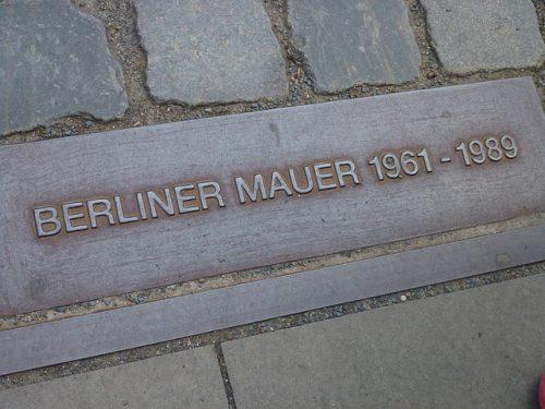 ベルリンの壁のレリーフ
