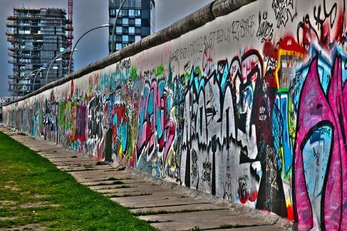 ベルリンの壁の落書き