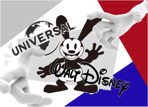 オズワルド&ディズニー&ユニバーサル