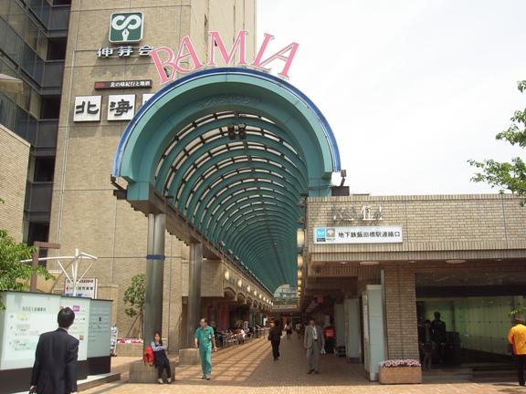 初期のももクロがライブを行っていた飯田橋ラムラ