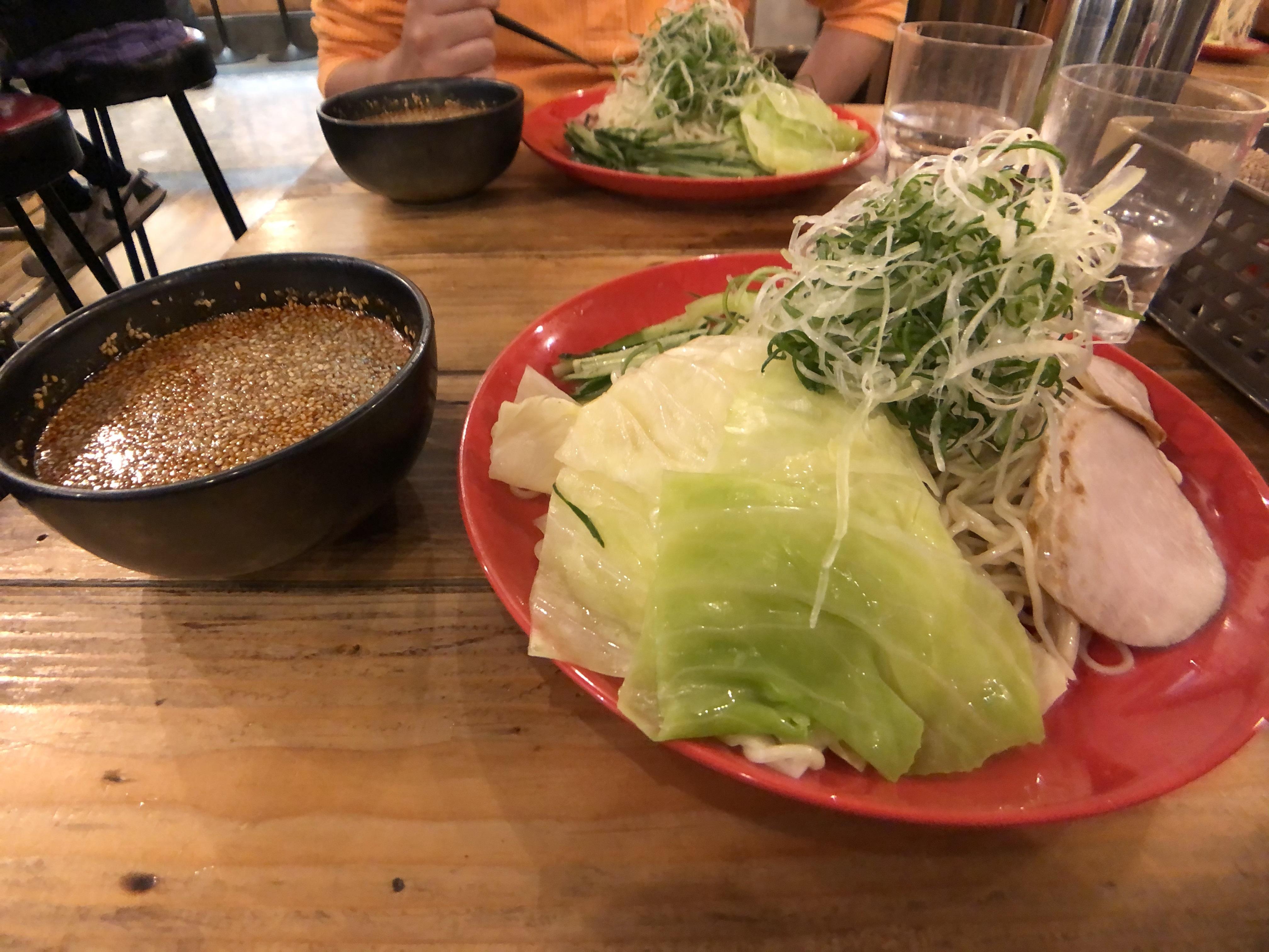 【写真⑨:つけ麺】