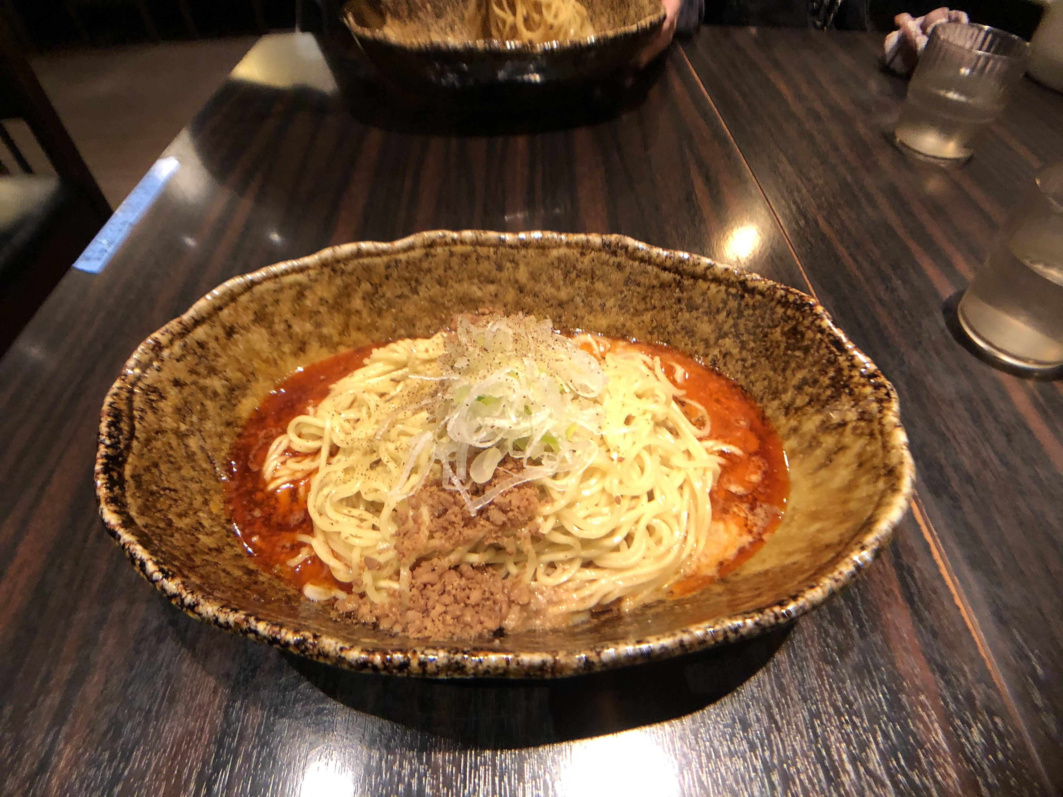 【写真⑪:担々麺】