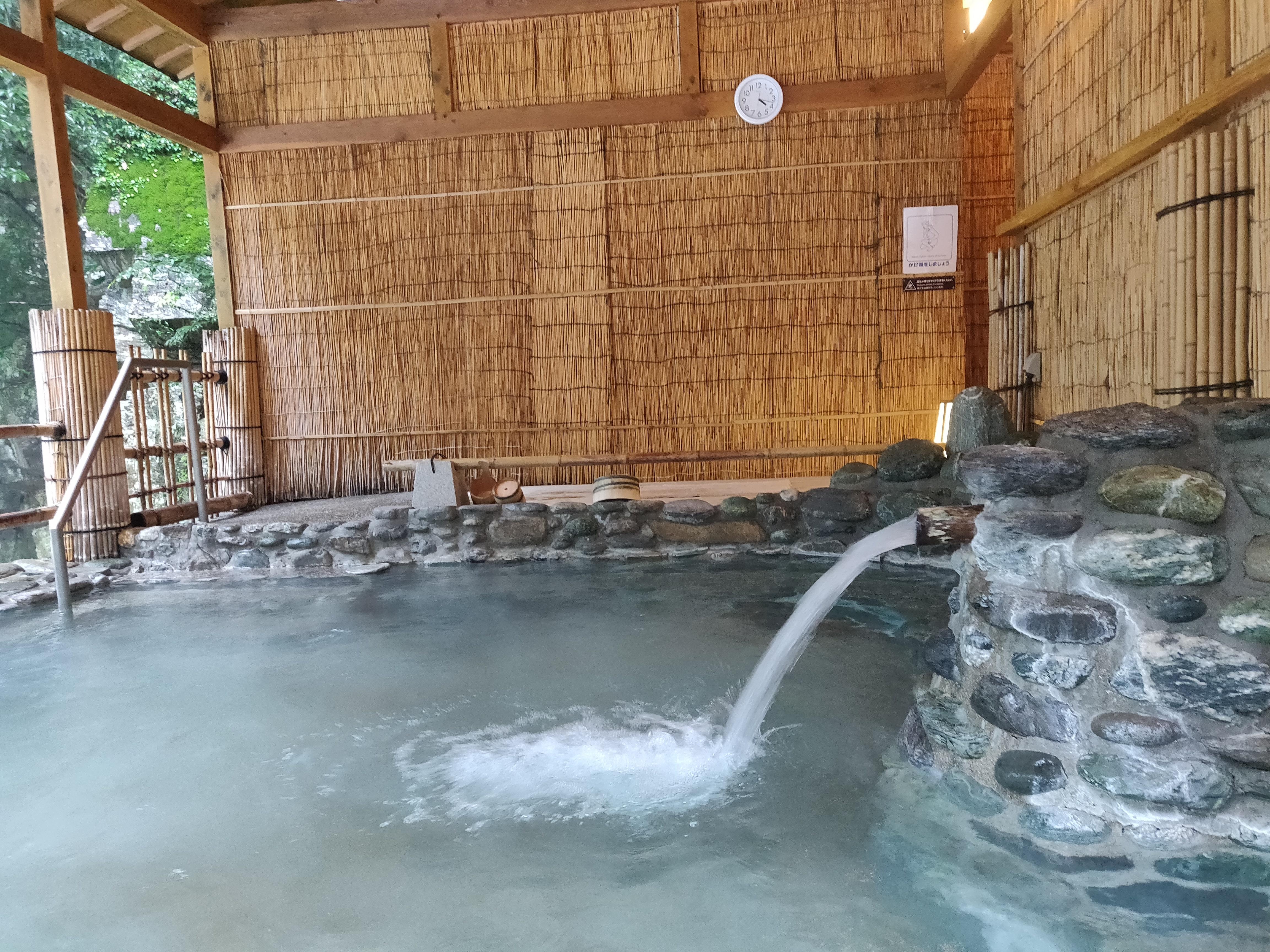 【ホテル祖谷温泉・風呂】